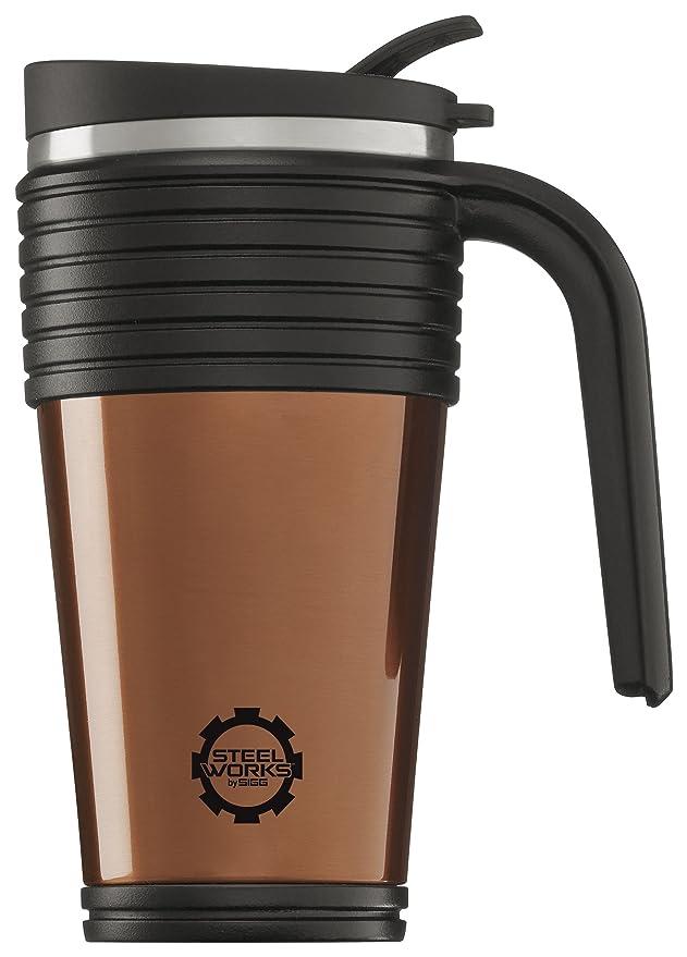 Sigg Thermosflasche Thermo Mug Copper, Orange, 0.5 Liter, 8242.70 ...