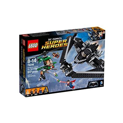 LEGO Super Heroes Heroes of Justice: Sky High Battle 76046: Toys & Games
