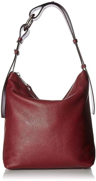 Amazon.com: Calvin Klein Liana - Cremallera de piel de ...