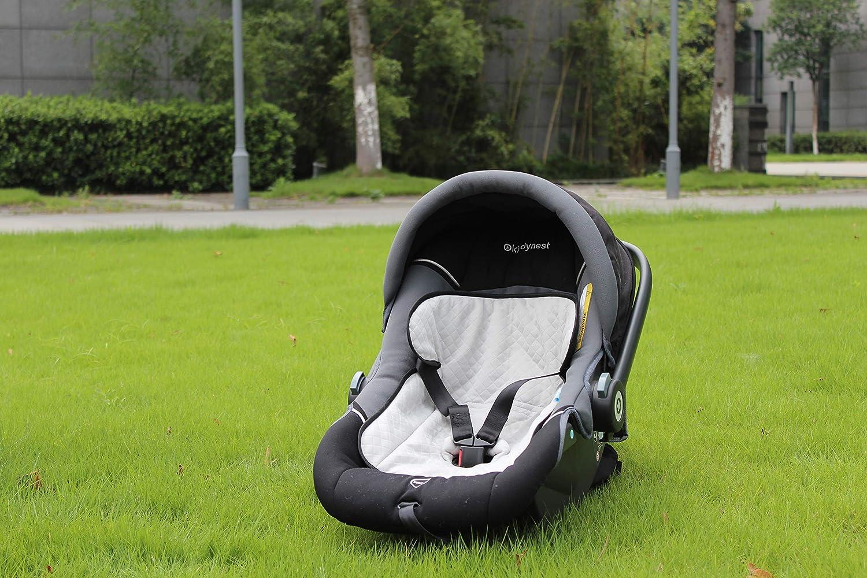 Babymad Protector de asiento de coche impermeable, antideslizante, protecci/ón contra derrames de alimentos y bebidas, pa/ñales, fugas y accidentes de entrenamiento para ir al ba/ño