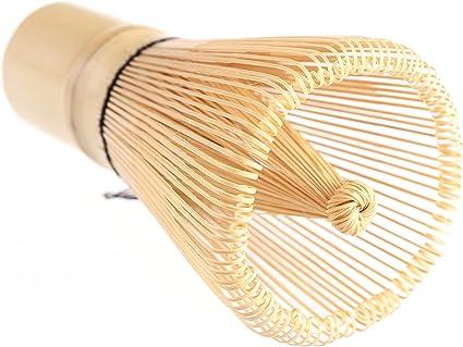 100 Clavijas pondate Blanco Chasen Matcha Batidor de bambú