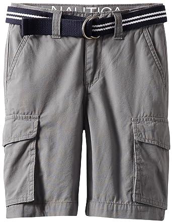 04cd4b3e4 Amazon.com: Nautica Sportswear Kids Big Boys' Belted Cargo Short ...