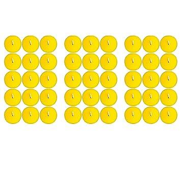 KELOPEST 45x Citronella Kerze mit frischem Zitronenduft - Anti Mücken Kerze mit bis zu 5h Brenndauer + Gratis Anzündstab & E-