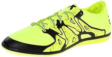 Adidas Performance Men's X 15.3 in Soccer Shoe, Solar Yellow/Core Black/ Frozen