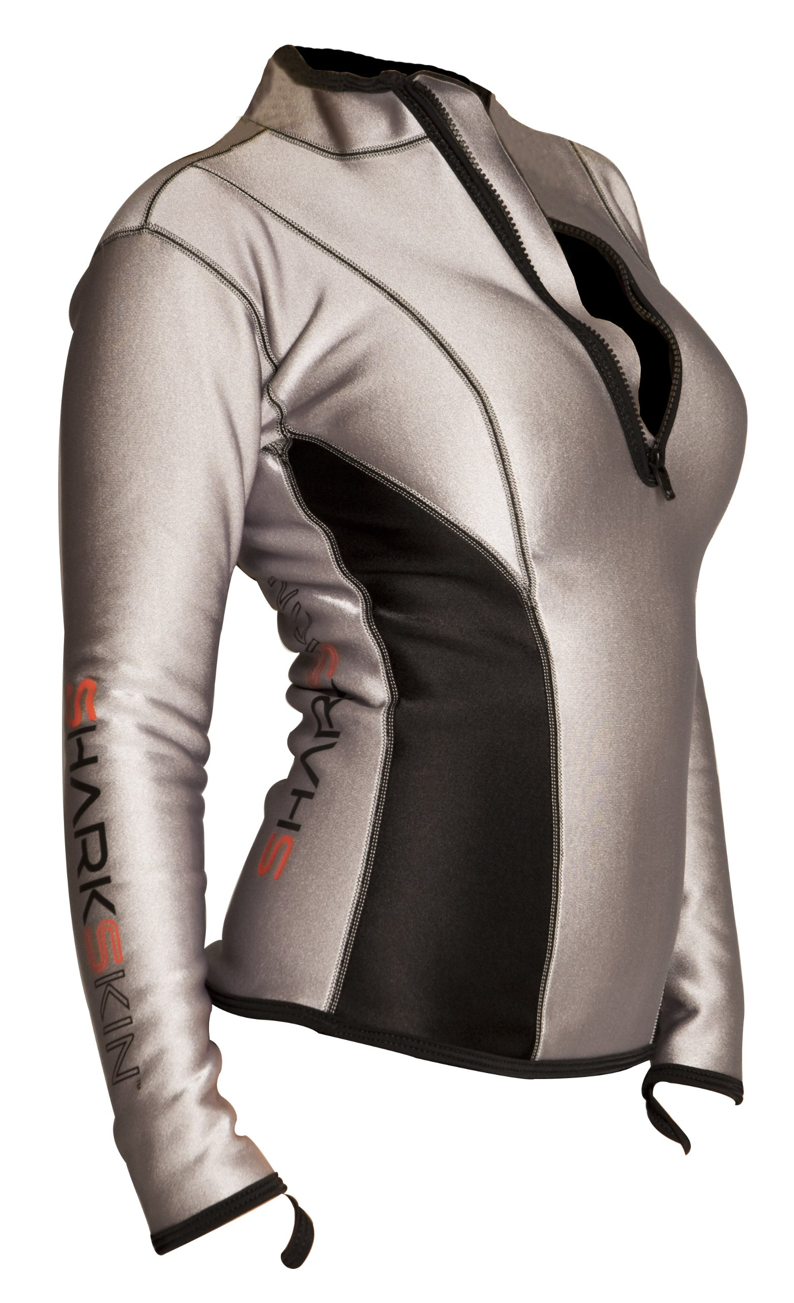 Sharkskin Women's Chillproof Climate Control Long Sleeve Shirt, Size 8