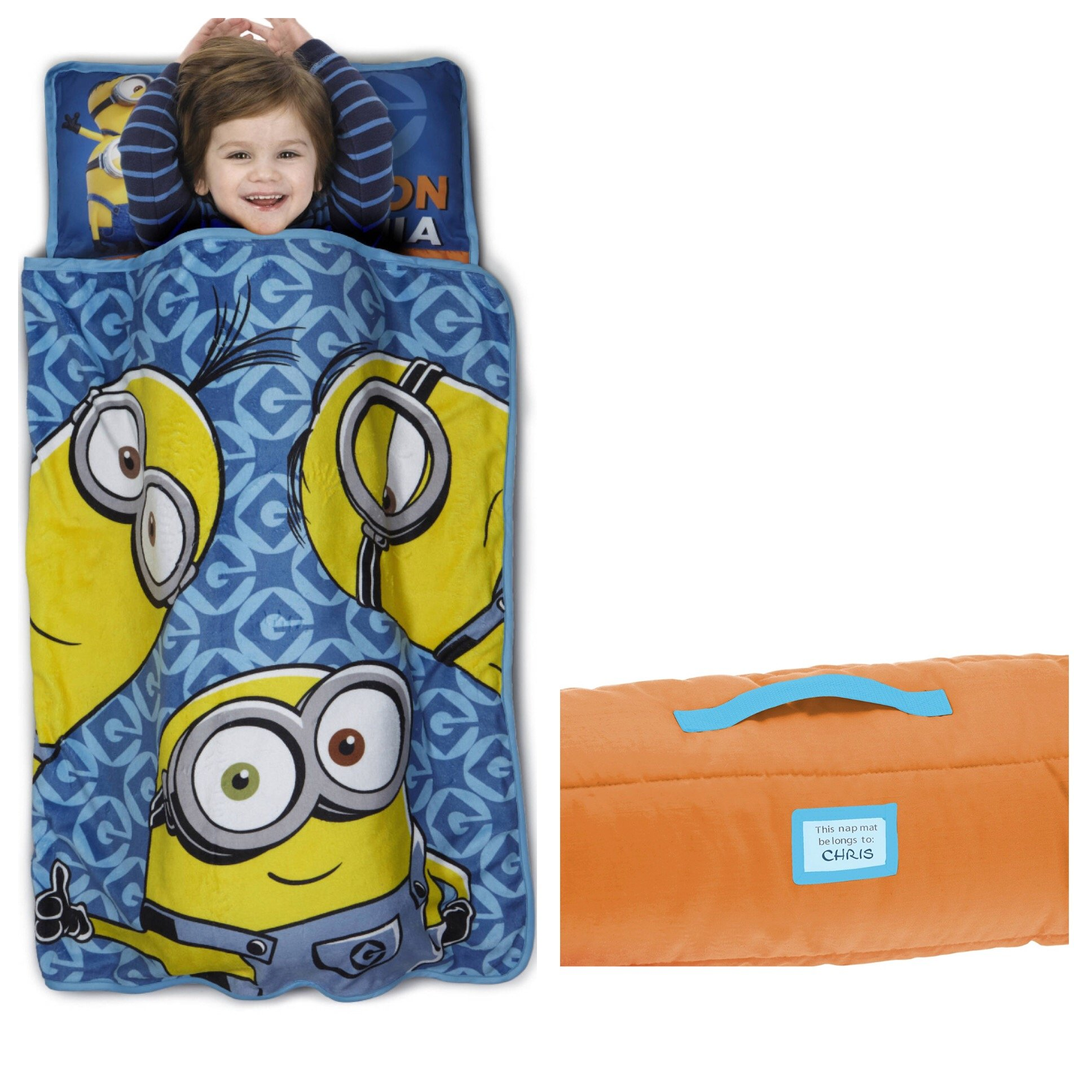 Despicable Me Minions One in a Minion Toddler Nap Mat, Blue