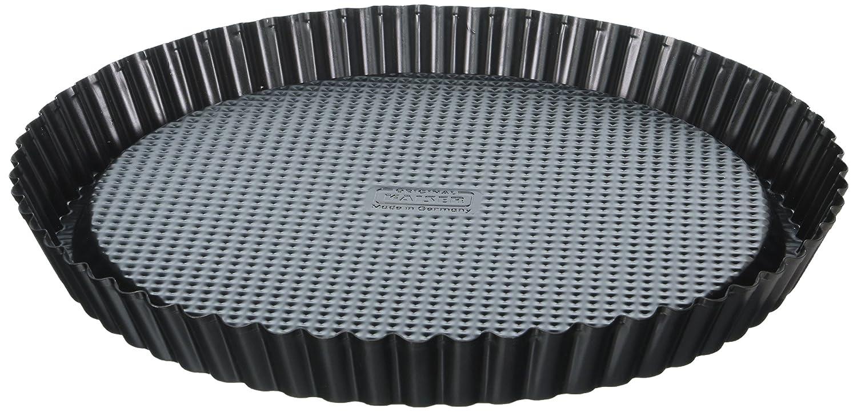 Kaiser 621128 Flan PanClassic 11.81In, Black