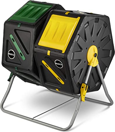 Amazon.com: Miracle-Gro - Cubo de basura con sistema de giro ...