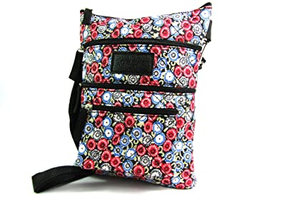 Ladies New Light Weight Crossover Body Handbag Quilted Bag Tablet Case Holder
