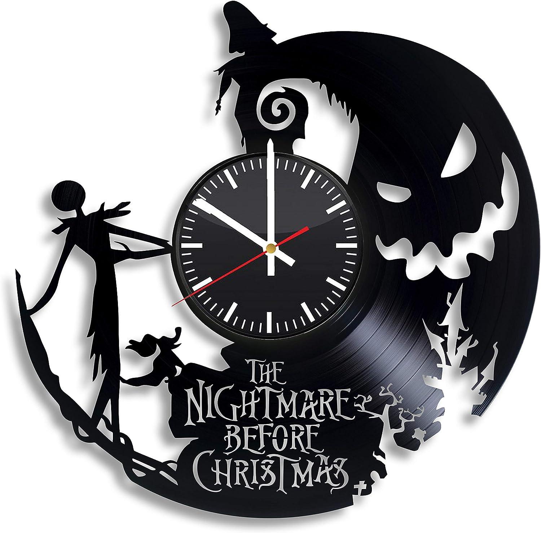 Jack Skeleton Ornament Clock- Nightmare Before Christmas Kids Clock, Jack and Sally Decor, The Nightmare Before Christmas Women Ornaments