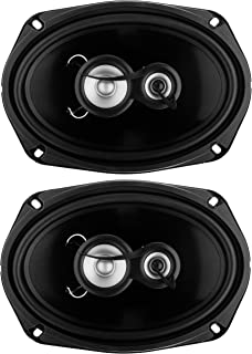 Sold in Pairs Full Range 3 Way Planet Audio AC693 6 x 9 Inch Car Speakers 500 Watts of Power Per Pair 250 Watts Each