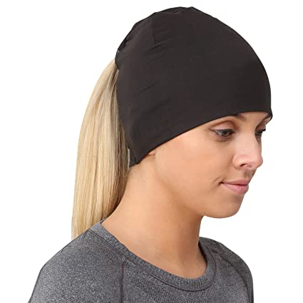 Amazon.com  TrailHeads Ponytail Hat Women s Performance Running ... 697934023aa
