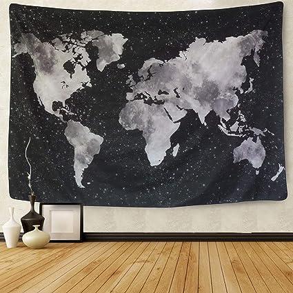 Póster Mapa Político Laminado Horizontal 138x98cm #110057l