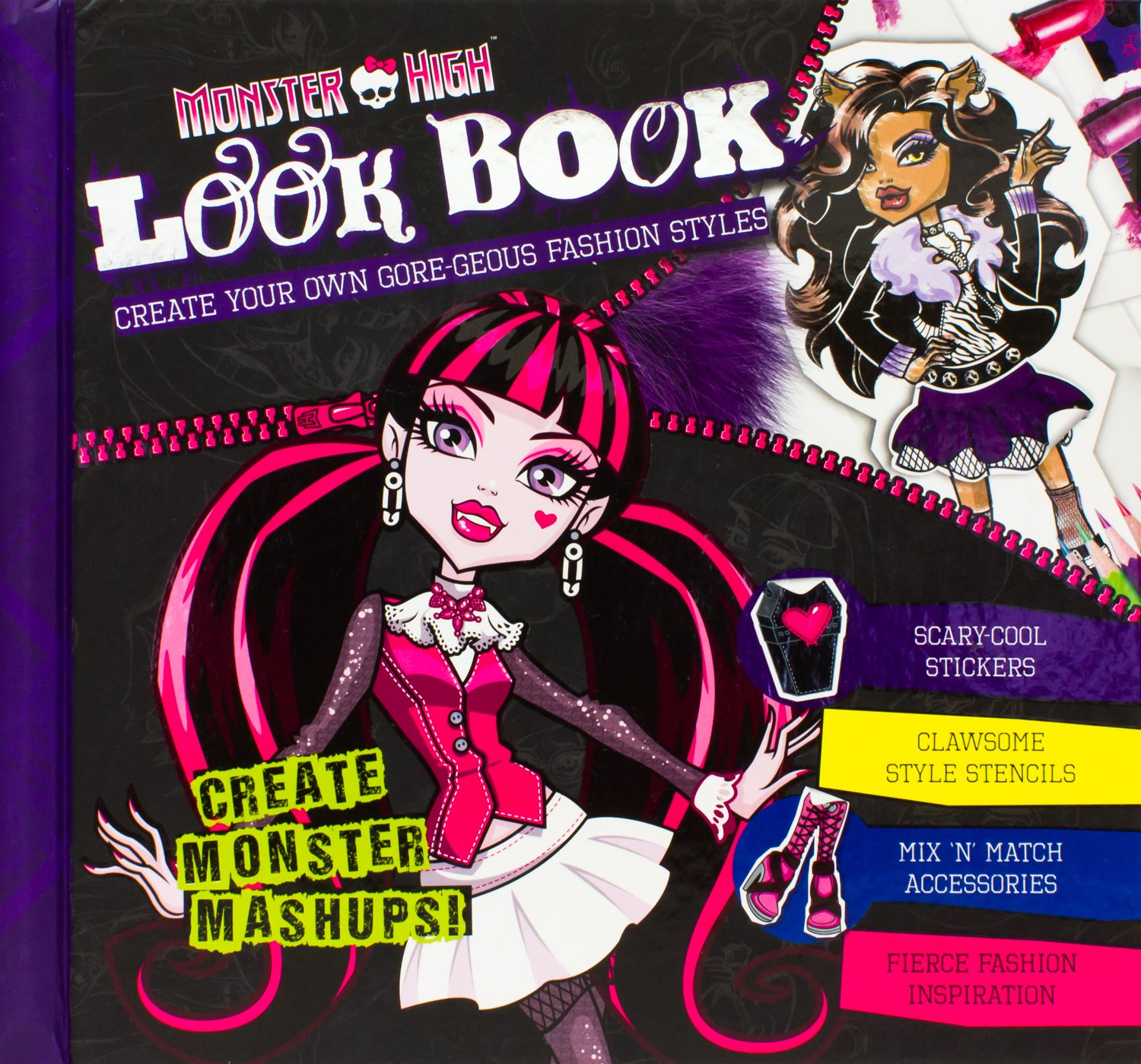 Monster High Look Book Parragon Books 9781472327383 Amazoncom