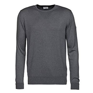 Moncler Men's Long Sleeve Jumper Grey Anthracite Grey X-Large