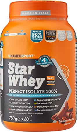 Named Sport PROTEINA STAR WHEY ISOLATE CHOCO 750gr