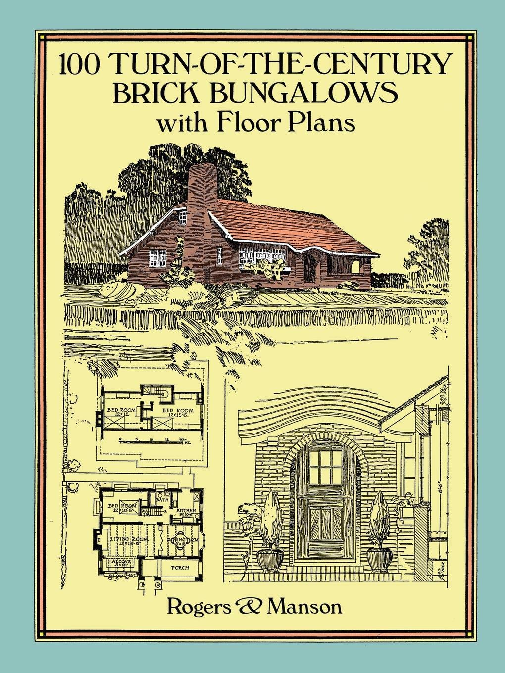 Magnificent 100 Turn Of The Century Brick Bungalows With Floor Plans Download Free Architecture Designs Rallybritishbridgeorg