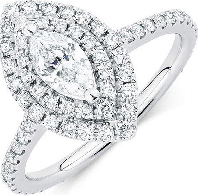 2.30Ct Round Cut Black Diamond Halo Engagement Ring Solid 14K Rose Gold Finish