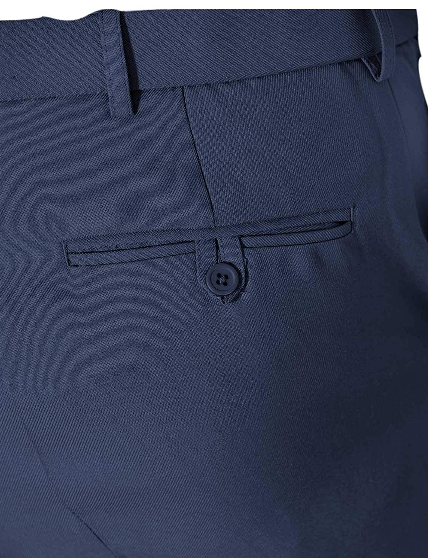 Chums Mens Stretch Waist Formal Smart Work Trouser Pants