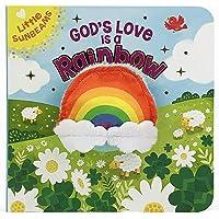 God's Love Is a Rainbow (Little Sunbeams Finger Puppet Board Book)