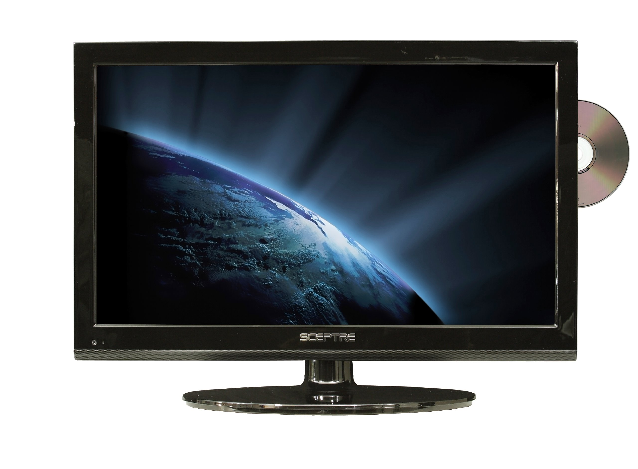 Sceptre E195BD-SHD 19-Inches 720p TV Combo - Black by Sceptre