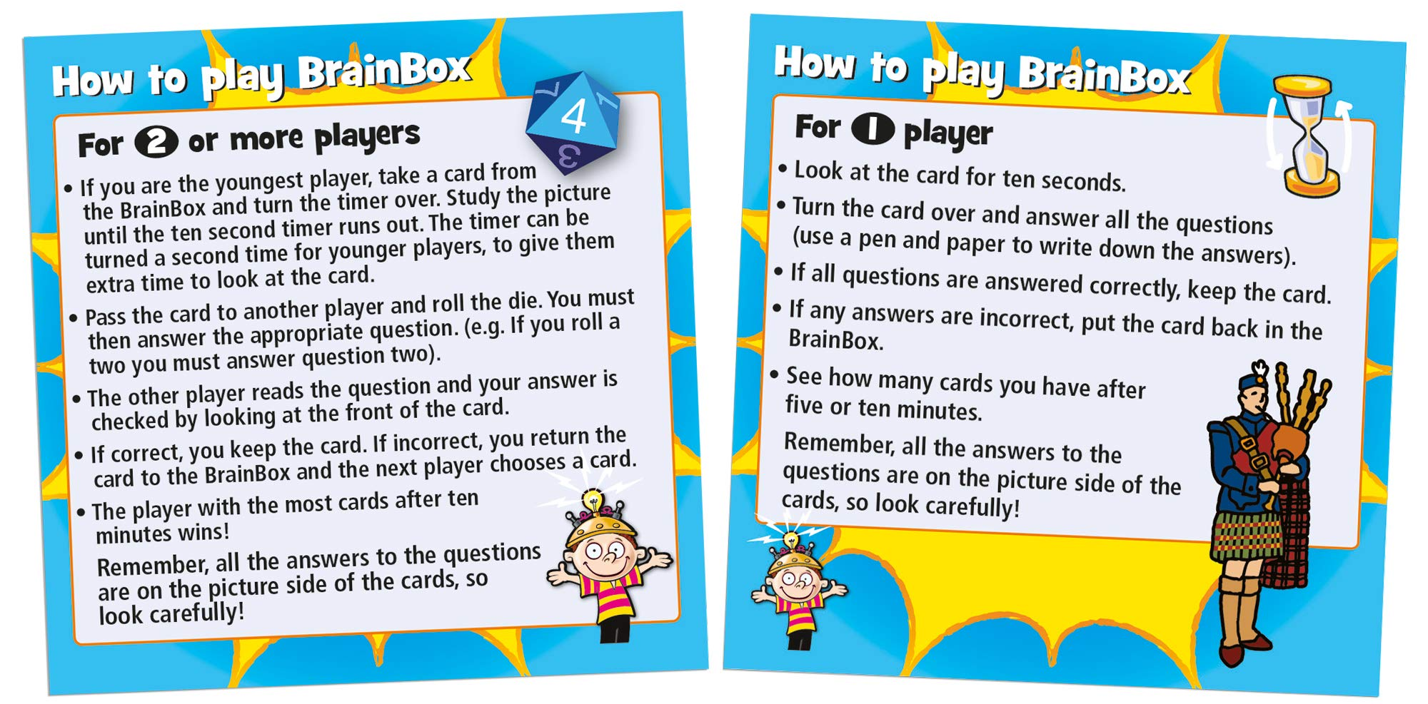 People Edited by at Work Working Brain Box English Card Game