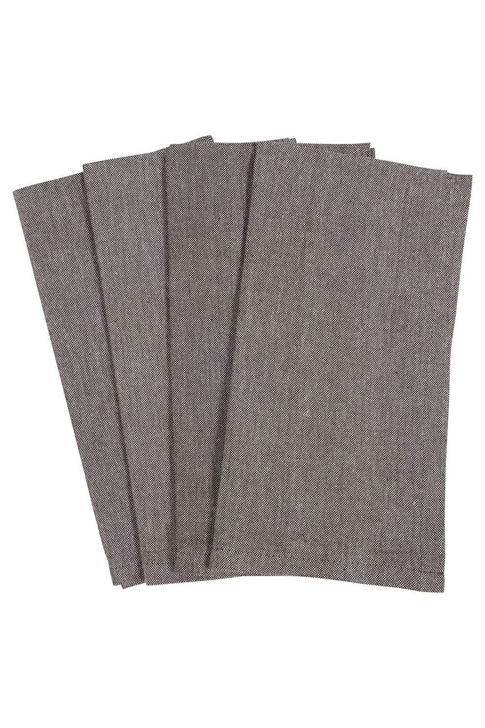 KAF Home Chambray Napkins 100/% Cotton Set of 4 Red