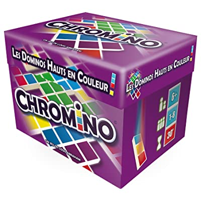 Asmodée- Chromino Multilanguage (ES/EN/FR/NL), Colour (CHRO04ML3): Toys & Games