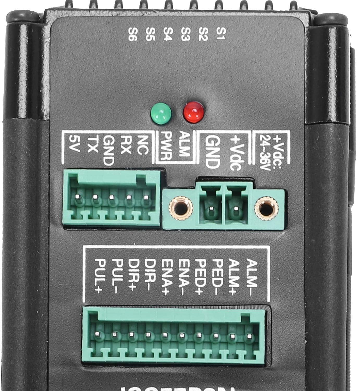 Gaoominy DC24V-48V JSS57P2N 2.2Nm Servo HíBrido Digital Integrado, Motor Paso a Paso de Circuito Cerrado de 200KHZ, Motor Conducir Sistema de Servoaccionamiento HíBrido Integrado: Amazon.es: Bricolaje y herramientas