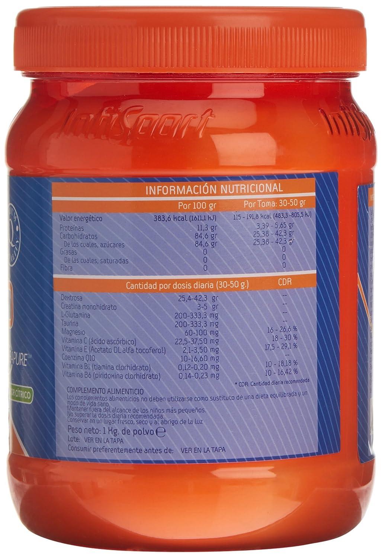 Infisport - Cellular Q10 800gr, Citrico: Amazon.es: Alimentación y bebidas