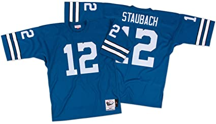 Mitchell   Ness Dallas Cowboys 1971 Roger Staubach Authentic Throwback  Jersey Size 44 d4b5dc064