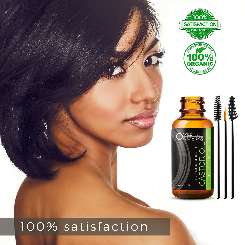 Orgánica Aceite de ricino - 100% libre de hexano USDA Certificado ...