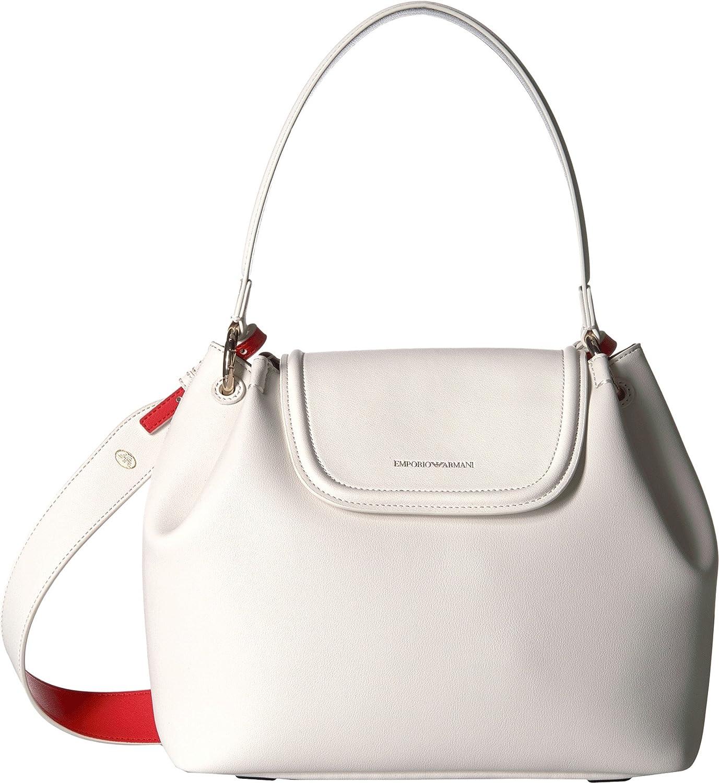 71b2fde4f6 Emporio Armani Womens Eco Leather Shoulder Bag [4VXgY1105244] - $52.99