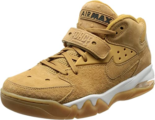 Nike Air Force Max Premium Herren Schuhe Leder Braun Sneaker Fashion Turnschuhe