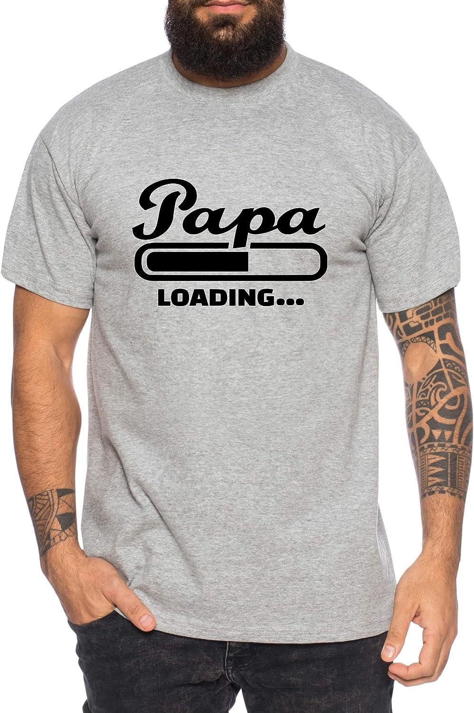 Papa Loading Tee Shirt Homme Cool Walt Funny Fun Shirt
