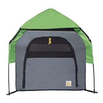 FrontPet Portable Pet Tent Outdoor Pet Kennel With One Step Setup Technology and Included Carry Bag  sc 1 st  Amazon.com & Amazon.com : FrontPet Portable Pet Tent Outdoor Pet Kennel With ...