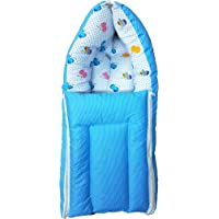 Customary 2 in 1 Baby's Sleeping and Carry Bag (0-9 Months) (Blue)