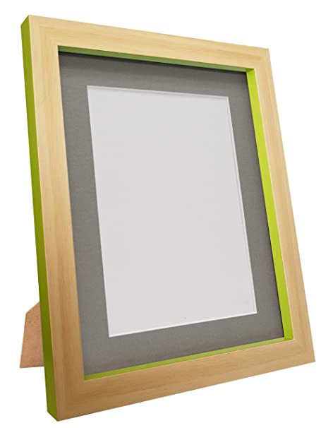 FRAMES BY POST Magnus Beech Picture Photo Frame, Green with Dark ...