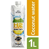 H2coco H2coco Coconut Water with Pineapple 100% Natural 1L (6 Units per Carton), 6 x 6.7 kg
