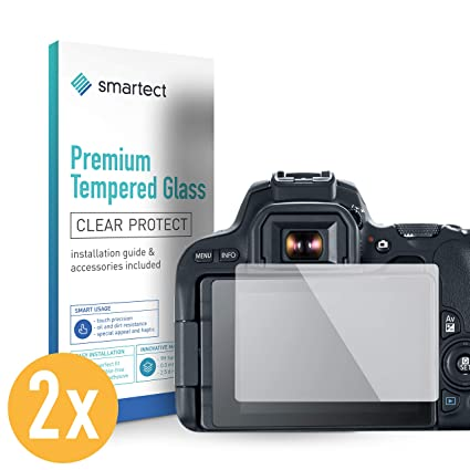 smartect Protector de Pantalla para Canon EOS 800D [2 Unidades ...