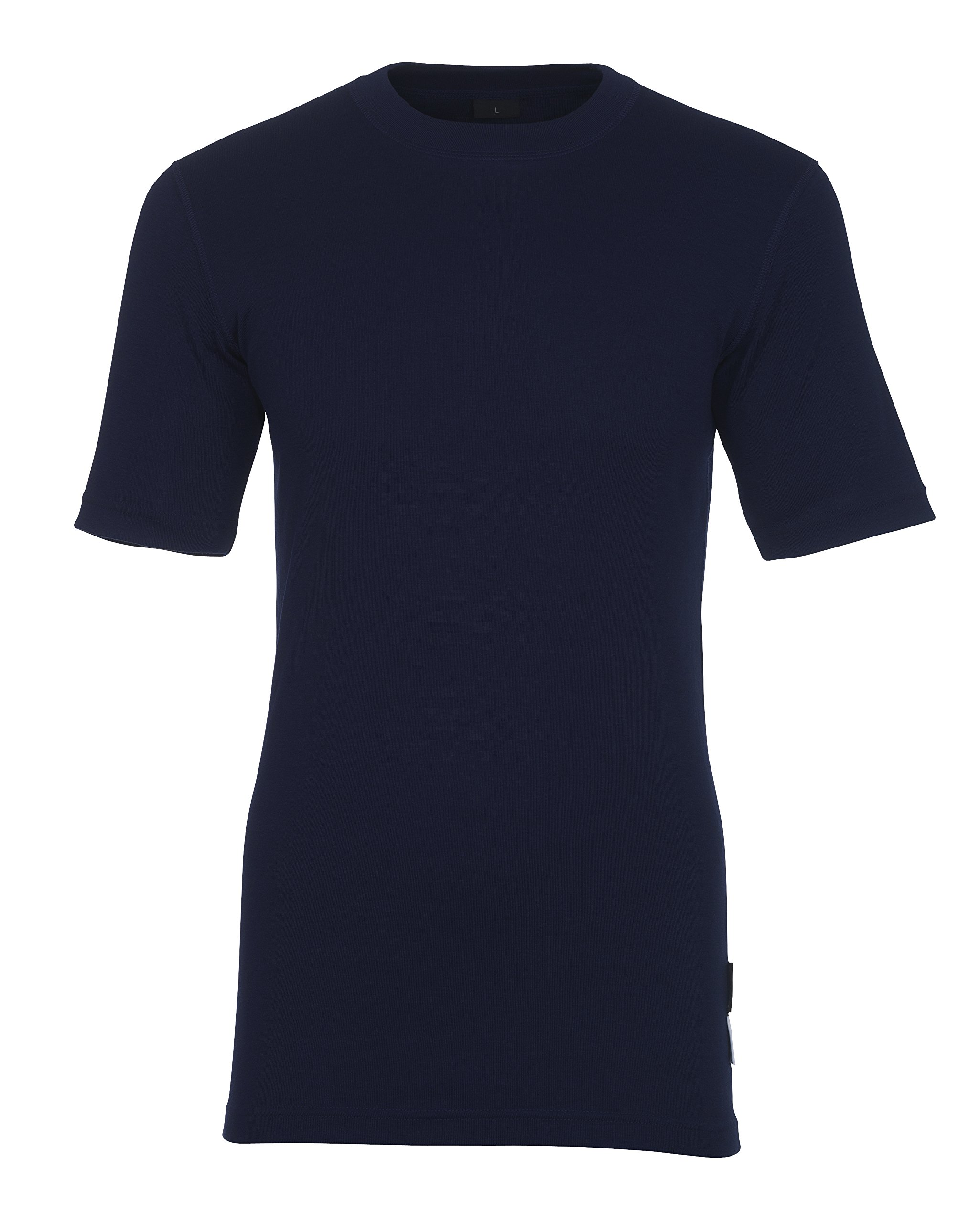 Mascot 00597-350-01-L''Kalix'' Under Shirt, Marine Blue, Large