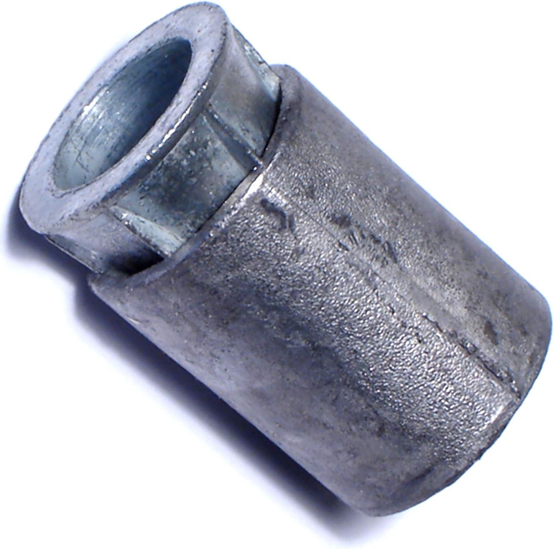 Hard-to-Find Fastener 014973281298 Lead Machine Screw Anchors, 3/8-16, Piece-50
