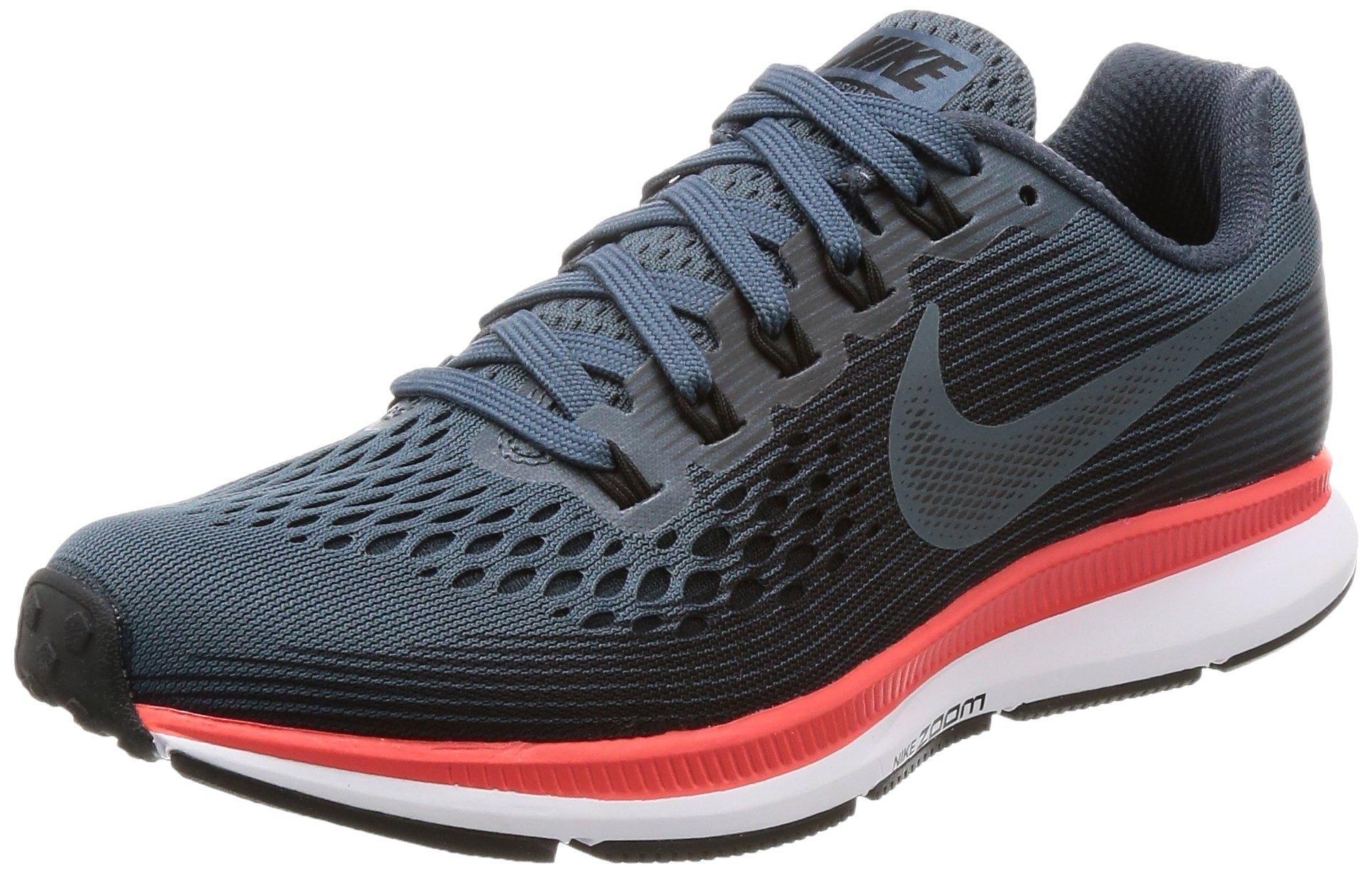 Nike WMNS Air Zoom Pegasus 34 880560-403 Blue Fox/Black/Bright Crimson Women's Running Shoes (6)
