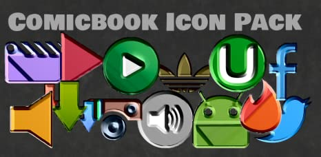 Amazon com: Comic Book Icon Pack: Appstore for Android