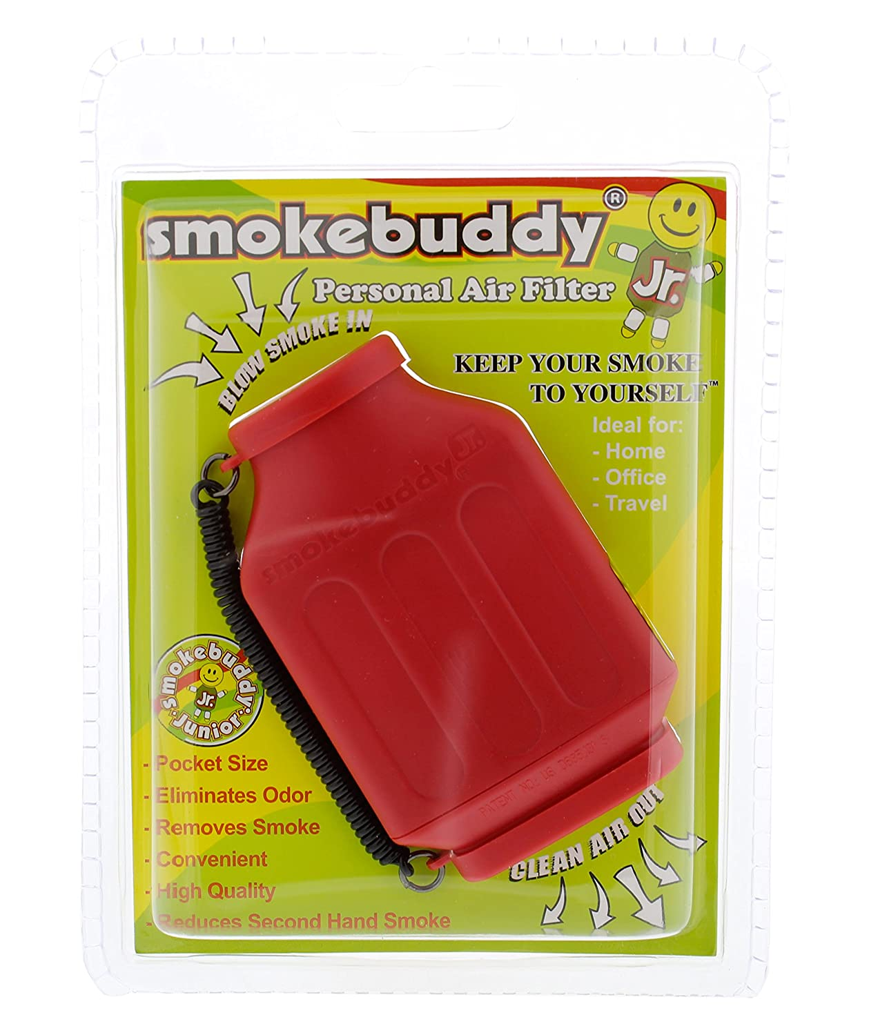 Green smokebuddy Jr Personal Air Filter Smoke Buddy smokebuddy Jr Green