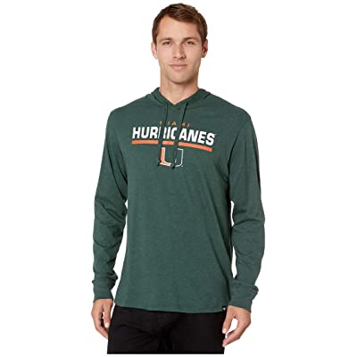 '47 College Miami Hurricanes End Line Club Hoodie: Clothing