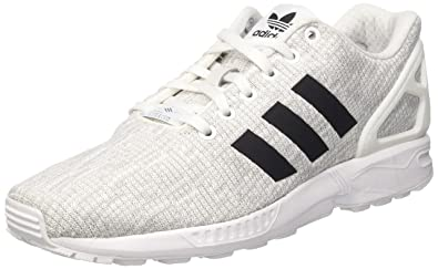 buy online 73cd0 b08b8 Amazon.com: adidas - ZX Flux - BY9413 - Color: White - Size ...