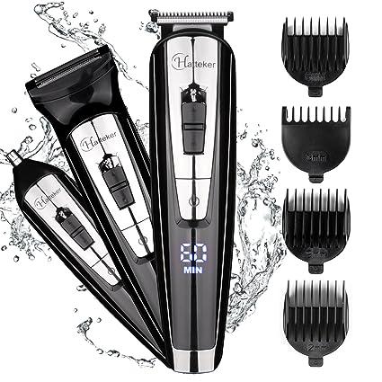 Hatt eker 3 en 1 para la barba Kit para hombres Cuerpo Groomer Kit Bigote  recortador eb7cd9517275