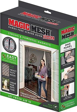 Magnetic Screen Door Easy Install Screen Door Magnetic Door Screen Pet Friendly Sliding Door Screen Door Mesh Door Screen Door Net for Doors Screen for door