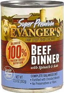 Evanger's Super Premium Dinner for Dogs, 12-12.5 oz Cans